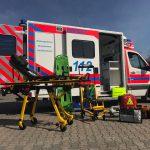 Ausrüstung eines Rettungswagens