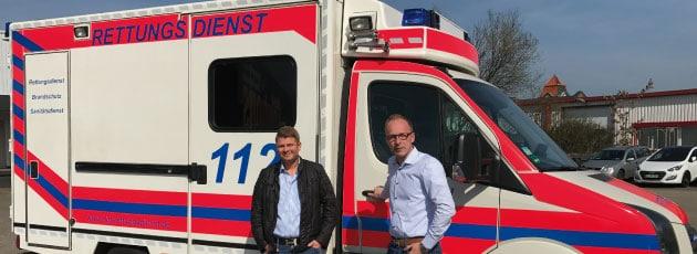Rettungswagen der DiG