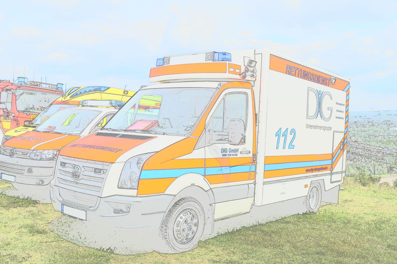 Sanitätsdienst für Betriebssanitäter, Brandsicherheitswache, Ausbildung zum Brandschutzhelfer (Branschutzhelfer Kurs), Sanitätscontainer : DiG GmbH Ulrichstr. 8, 45891 Gelsenkirchen 80