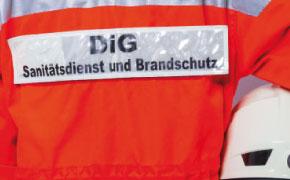 Sanitätsdienst für Betriebssanitäter, Brandsicherheitswache, Ausbildung zum Brandschutzhelfer (Branschutzhelfer Kurs), Sanitätscontainer : DiG GmbH Ulrichstr. 8, 45891 Gelsenkirchen 77
