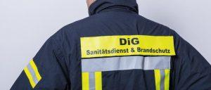 Sanitätsdienst für Betriebssanitäter, Brandsicherheitswache, Ausbildung zum Brandschutzhelfer (Branschutzhelfer Kurs), Sanitätscontainer : DiG GmbH Ulrichstr. 8, 45891 Gelsenkirchen 30
