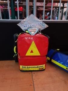 Sanitätsdienst, Brandsicherheitswache, Betriebssanitäter, Sanitätscontainer, Erste-Hilfe Container, Ausbildung zum Brandschutzhelfer, Brandschutzhelfer-Kurs, Brandwache