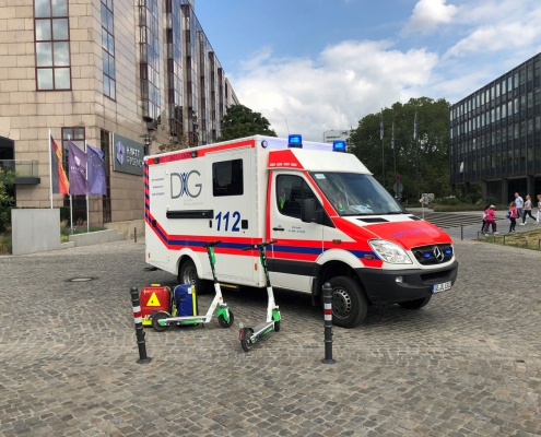 DiG GmbH – Rettung & Brandschutz, Hochkampstr. 68 c, 45881 Gelsenkirchen, Tel: 0209 930 446 30, Fax: 0209 930 446 39, info@dig-gruppe.de, Sanitätsdienst beim Barmer Womens Run Köln