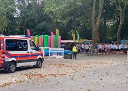 Sanitätsdienst Color Obstacle Rush Dortmund