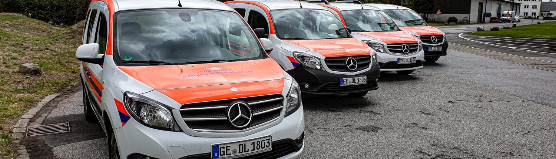 Mercedes Benz Citan DiG Sanitätsdienst