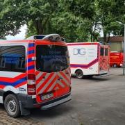 Bombenentschärfung - Rettungsdienst